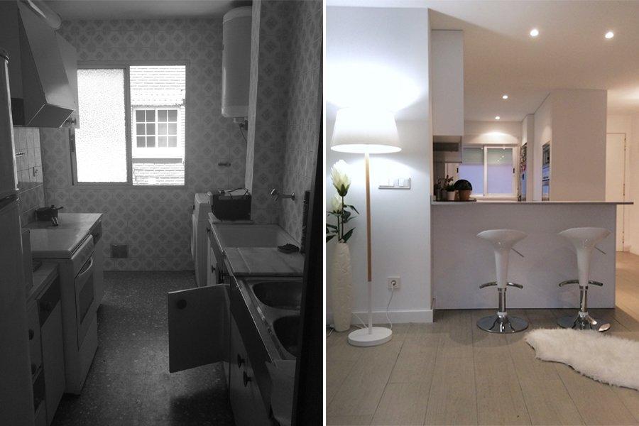 El antes y después de nuestros proyectos